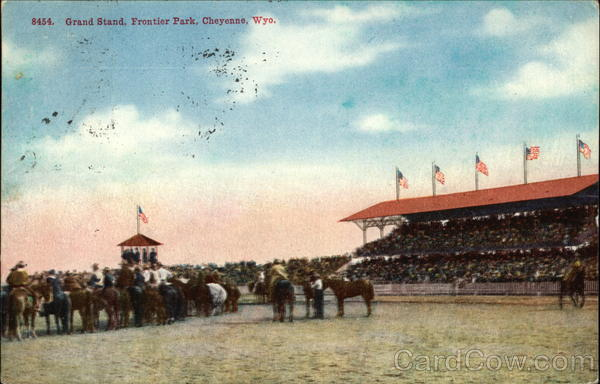 Frontier Park - Grand Stand Cheyenne Wyoming