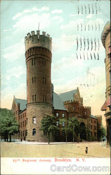 23rd Regiment Armory Brooklyn New York