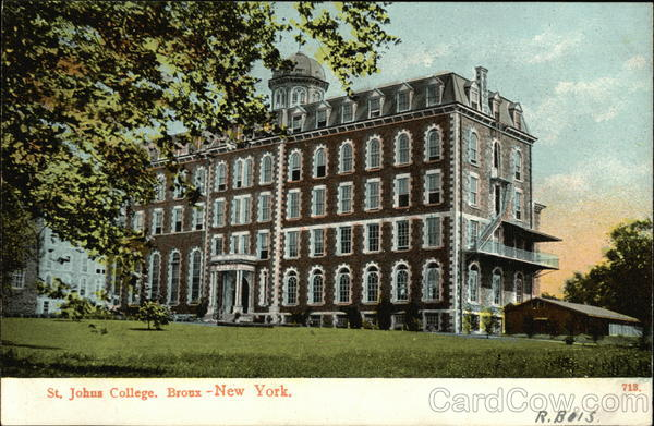 St. Johns College Bronx New York