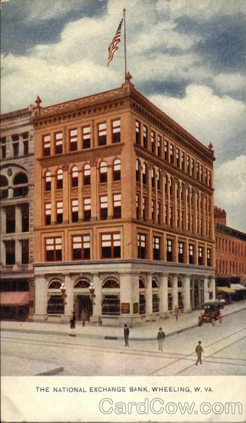 The National Exchange Bank Wheeling West Virginia