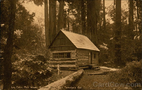 Log Cabin, Muir Woods National Park Mill Valley California