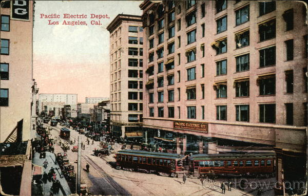 Pacific Electric Depot Los Angeles California