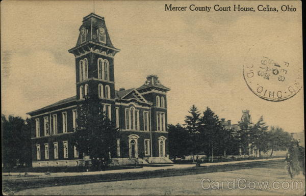 Mercer County Court House Celina Ohio