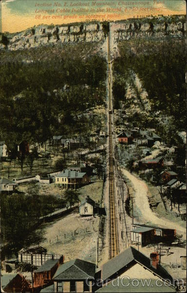 Incline No. 2, Lookout Mountain Chattanooga Tennessee