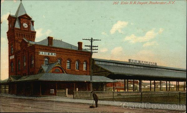 Erie R.R. Depot Rochester New York
