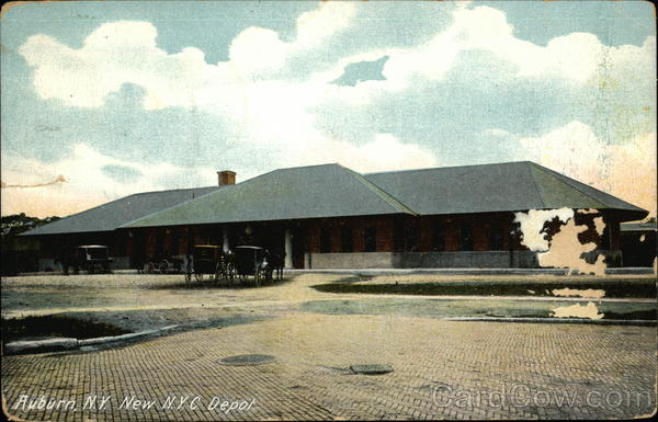 New N.Y.C. Depot Auburn New York