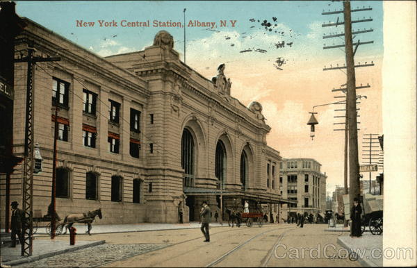 New York Central Station Albany
