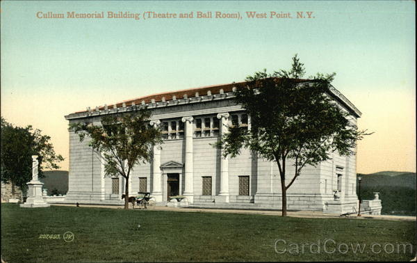 Cullum Memorial Building - Theater and Ball Room West Point New York