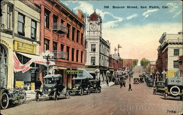 Beacon Street San Pedro California