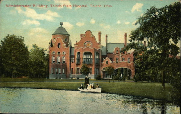 Administration Building Of The Toledo State Hospital Ohio