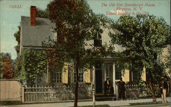 The Old Van Steenburgh House Kingston New York