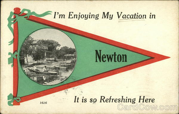 I'm Enjoying my Vacation in Newton It is so Refreshing Here Kansas