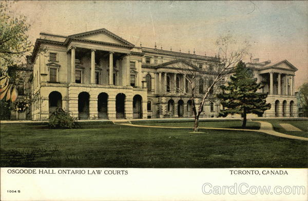 Osgoode Hall, Ontario Law Courts Toronto Canada