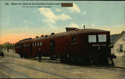 Motor Car Used on the Southern Pacific Lines