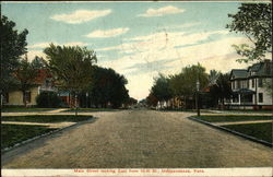 Main Street, Looking East from 10th Street