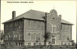 Brick Edifice Of The Public School