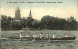 University of Notre Dame - Boat Crew at Practice