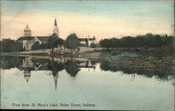 View from St. Mary's Lake Postcard