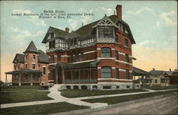 Shiloh House - Former Residence of the late John Alexander Dowie Postcard