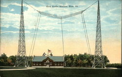 Zion Radio Station Postcard
