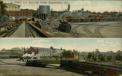 Depot and Railroad Yards