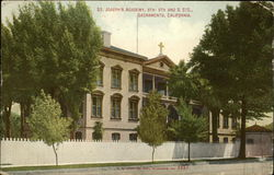 St. Joseph's Academy At 8th, 9th And G Streets