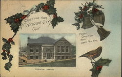 Greetings - Merry Christmas and a Happy New Year - Carnegie Library