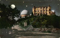 Lick Observatory by Moonlight