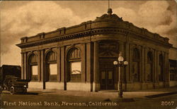 First National Bank On The Corner