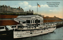 Steamer Indianapolis at Municipal Dock