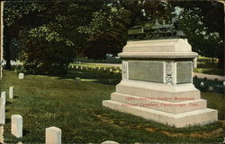 Andrews Raiders Monument, National Cemetery