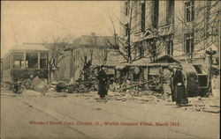 Wrecked Street Cars