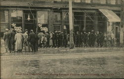 Bread Line during World's Greatest Flood, 1913