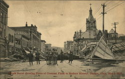 Wreckage After Flood, March 1913