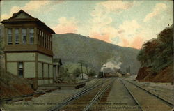 Alleghany Station Looking East