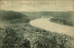 Ohio River and Bird's Eye View of Town