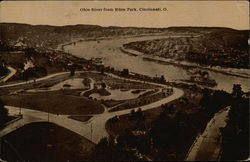 Ohio River from Eden Park