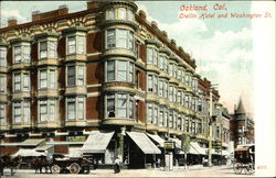 Crellin Hotel and Washington Street