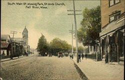 South Main Street showing Park and St. Ann's Church