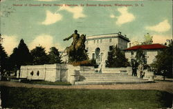 Statue of General Philip Henry Sheridan, by Butzon Borglum, Washington, D. C