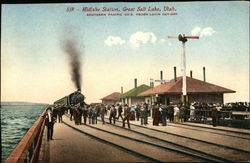 Midlake Station, Southern Pacific Co's Ogden Lucin cut-off