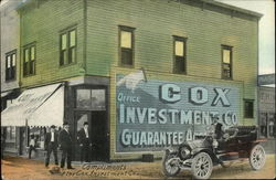 1909 Complements of the Cox Investment Co