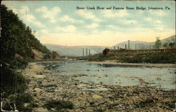 Stony Creek River and Stone Bridge