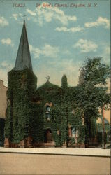 Ivy Covered St. John's Church