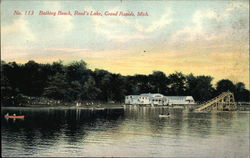 Bathing Beach, Reed's Lake