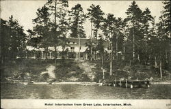 Hotel Interlochen from Green Lake