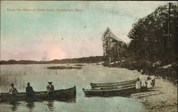 Along The Shore Of Green Lake