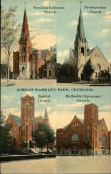 Some of Mankato, Minn., Churches