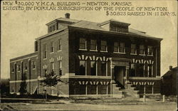 New $30,000 Y.M.C.A. Building - Newton, Kansas