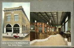 Exterior and Interior of the Midland National Bank